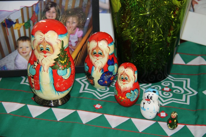 Christmas Babushka Dolls