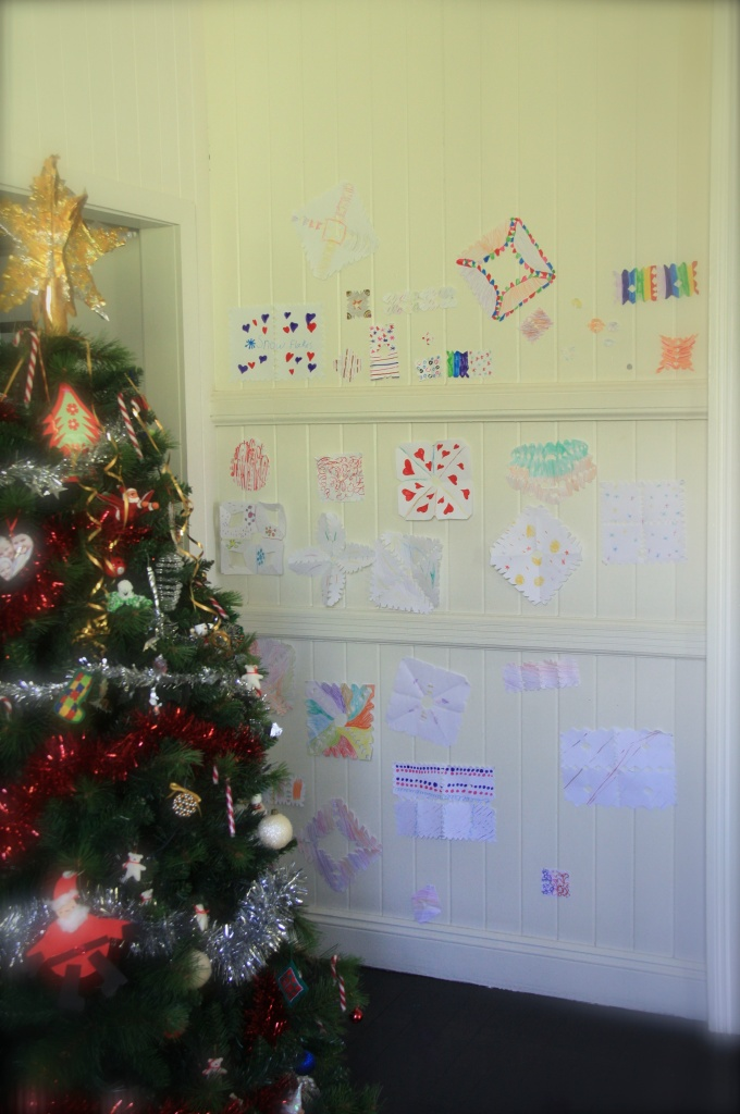 Christmas Snowflake Wall